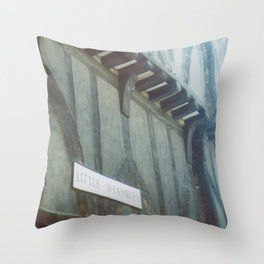 Little Shambles Throw Pillow