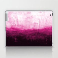 Paint 7 pink abstract painting ocean sea minimal modern bright colorful dorm college urban flat Laptop & iPad Skin