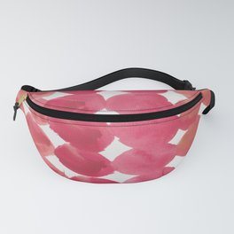 5   | 190408 Red Abstract Watercolour Fanny Pack