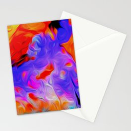 New Year Colours Stationery Cards