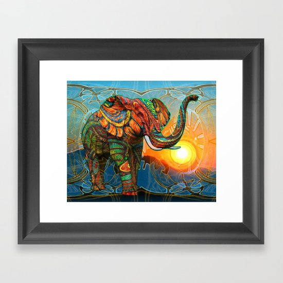 Elephant's Dream Framed Art Print