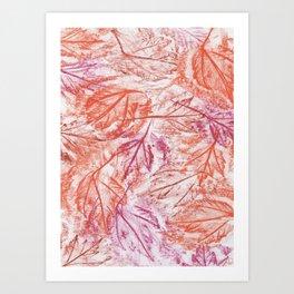 Frottage Art Print