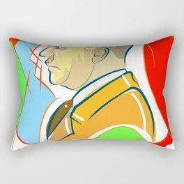 Hit in Blood Rectangular Pillow
