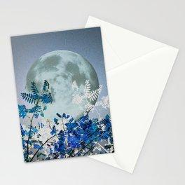 Super Moon v2 - Blue #buyart Stationery Cards