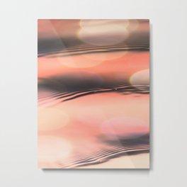 Sunset on Water Metal Print