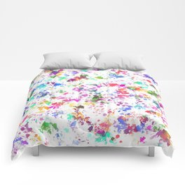 Expression of color Comforters