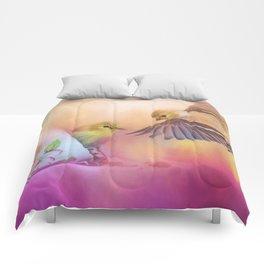 Raiding The Teacup - Songbird Art Comforters