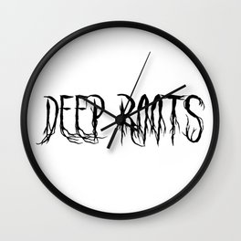 Deep Roots Wall Clock