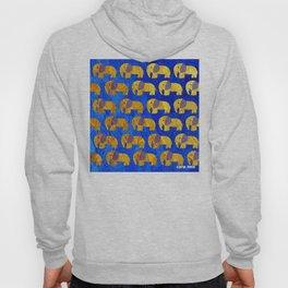 Golden elephant ecopop Hoody