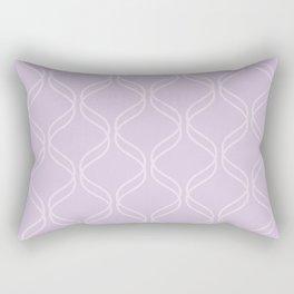 Double Helix - Light Purples #367 Rectangular Pillow