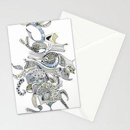Maize & Blue Stationery Cards