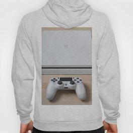 Sony PlayStation 4 Slim Glacier White gaming console Hoody