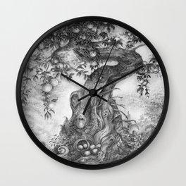 Fruited Wall Clock