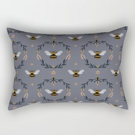 Ode to the Bumblebee Rectangular Pillow