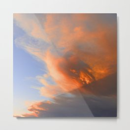 Pyrocumulus Cloud (Fire Cloud) in Cherry Valley, California Metal Print