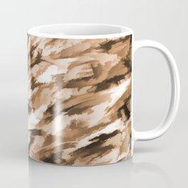 Beige Designer Camo Coffee Mug