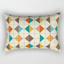 Retro Tiles #1 Rectangular Pillow