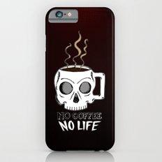 No Coffee No Life iPhone 6s Slim Case