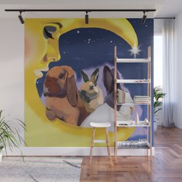 Once Upon A Moon Wall Mural