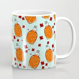Super Canadian Maple Syrup Pattern Coffee Mug