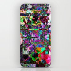 Vertical Floral iPhone & iPod Skin