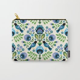 Polish Folk Birds Carry-All Pouch