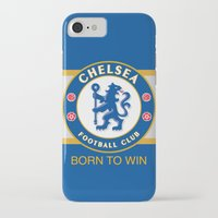 chelsea iPhone & iPod Cases featuring Chelsea by DeBUM