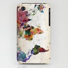 map iPhone (3g, 3gs) Slim Case
