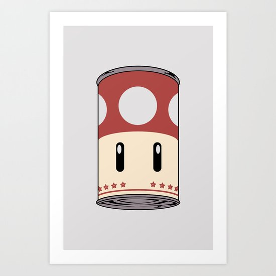 cream of mushroom super. Art Print