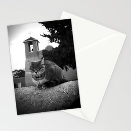Praying Cat Stationery Cards