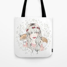 Fox Dreams Tote Bag