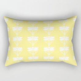 Canary Arts and Crafts Dragonflies Rectangular Pillow