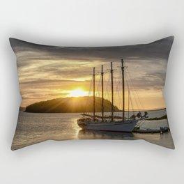 Sunrise Bar Harbor Maine Rectangular Pillow