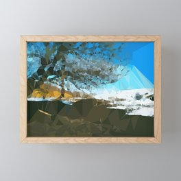 spring landscape Framed Mini Art Print