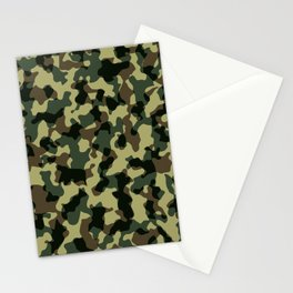 camouflage-military Stationery Cards