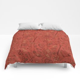 Inventory in Red Comforters
