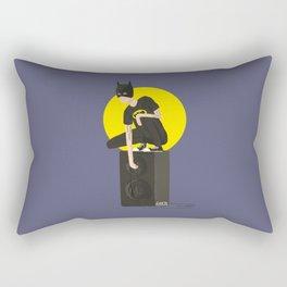 Tegan and Sara: Bategan #2 Rectangular Pillow