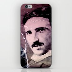 Nikola TESLA iPhone & iPod Skin
