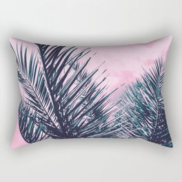 Summer Palms - Cali Vibes #1 #tropical #decor #art #society6 Rectangular Pillow