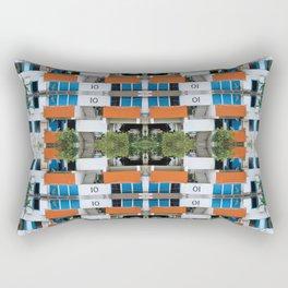 Cuban Eco Village Rectangular Pillow