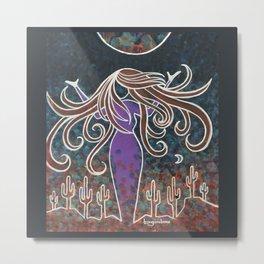 Southwest Goddess 1 Metal Print