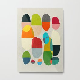 Jagged little pills Metal Print