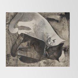 MORNING KISS by Raphaël Vavasseur Throw Blanket