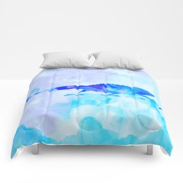 Abstract Chameleon Reptile Comforters