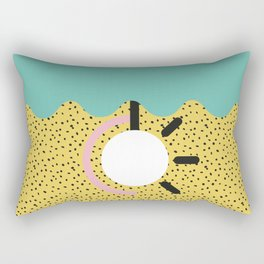 Memphis Style N°3 Rectangular Pillow
