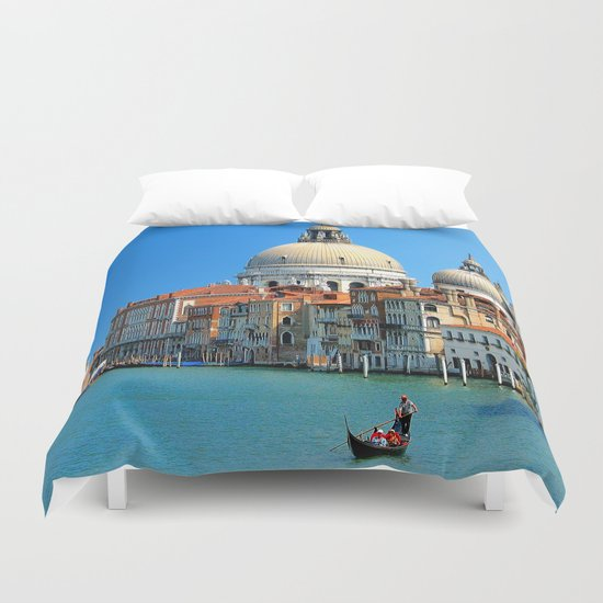One day in Venice Duvet Cover