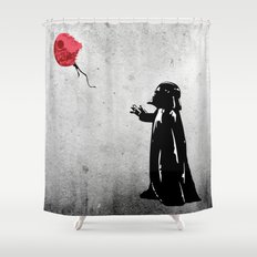 Little Vader - Inspired by Banksy Shower Curtain