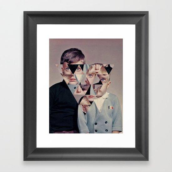 Demon Children Framed Art Print