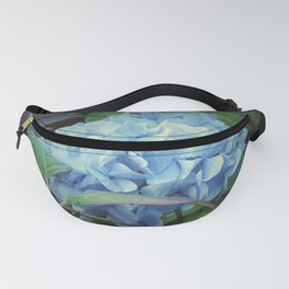 Blue And Purple Mood Fanny Pack