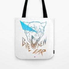 Bite New Year Tote Bag